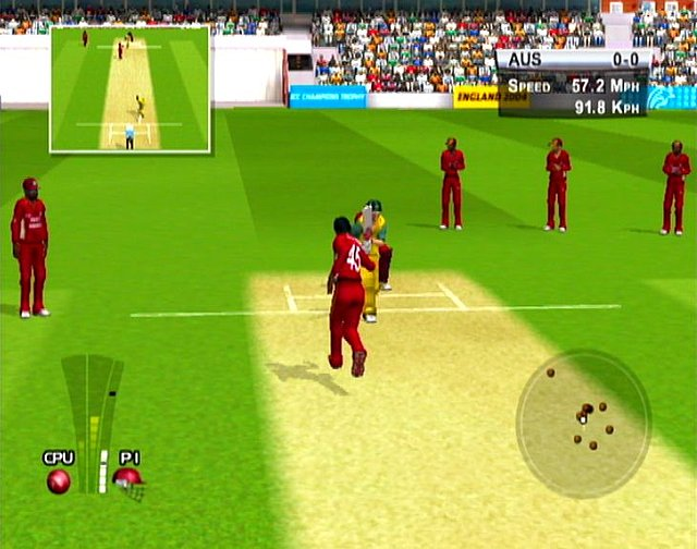 Brian Lara International Cricket 2005 - Xbox Screen