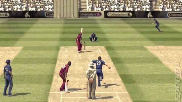 Brian Lara International Cricket 2007 - PC Screen