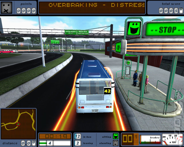 Bus Driving Double Pack: Bus Simulator 2 & Bus Driver - PC Screen