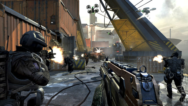 Launching Call of Duty: Black Ops II Editorial image