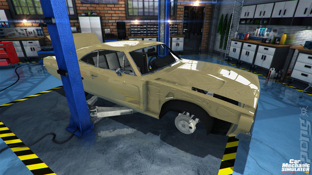 Car Mechanic Simulator 2015 - PC Screen
