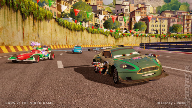 Cars 2: The Video Game - PS3 Screen