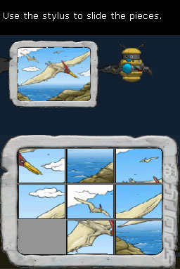 Clever Kids: Dino Land - DS/DSi Screen