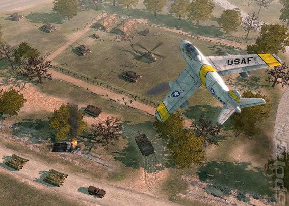 Codename Panzers: Cold War - PC Screen
