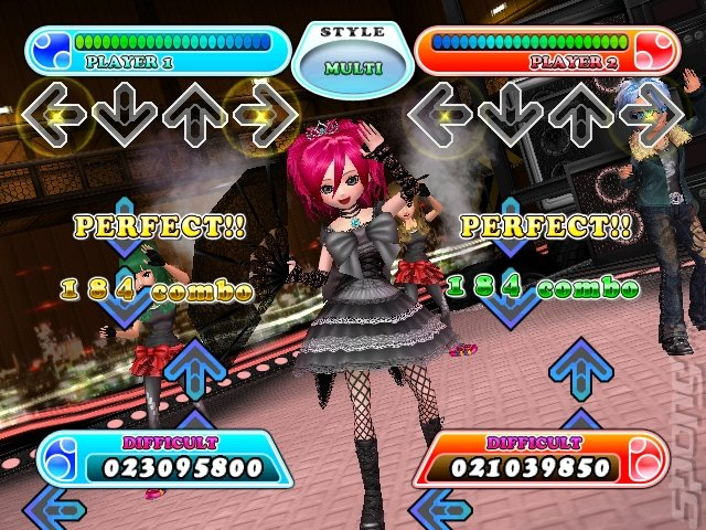 Screens Dance Dance Revolution Hottest Party 3 Wii 1