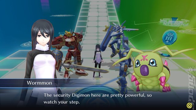 Digimon Story: Cyber Sleuth: Hacker's Memory - PS4 Screen