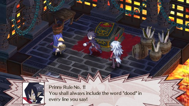 Disgaea 4 Complete+: Promise of Sardines Edition - Switch Screen