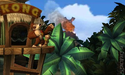 Donkey Kong Country Returns - 3DS/2DS Screen