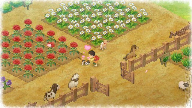 Doraemon: Story of Seasons - Switch Screen