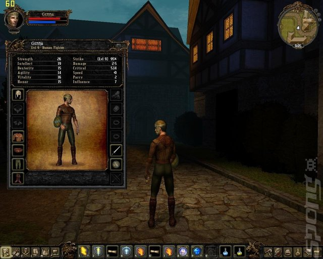 Dungeon Lords MMXII - PC Screen