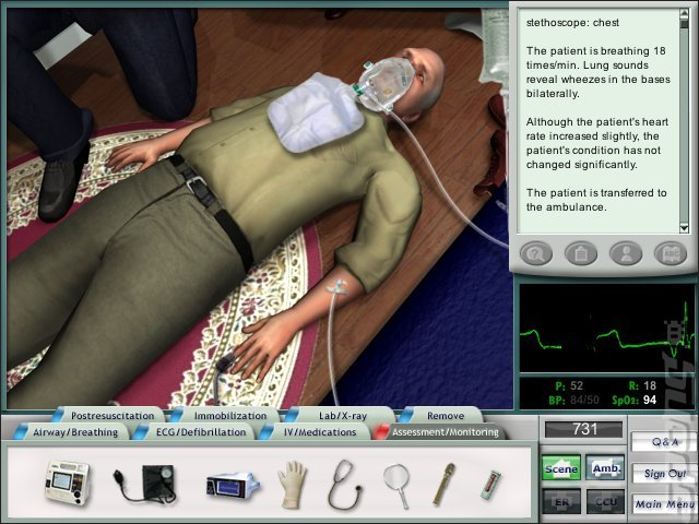 Emergency Room: Heroic Measures - PC Screen