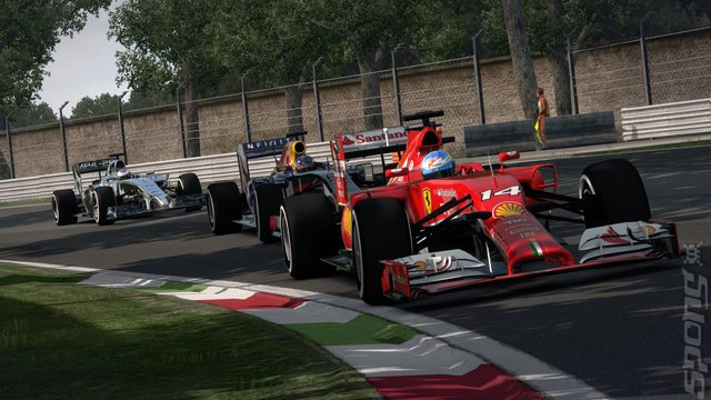 F1 2014 - PS3 Screen