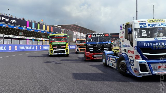 FIA European Truck Racing Championship - Switch Screen