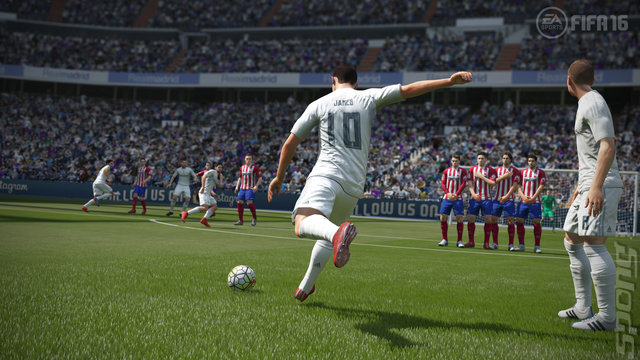 FIFA 16 - PS3 Screen