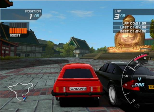 Ford Racing 3 - PS2 Screen