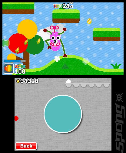 Freakyforms Deluxe: Your Creations, Alive! - 3DS/2DS Screen