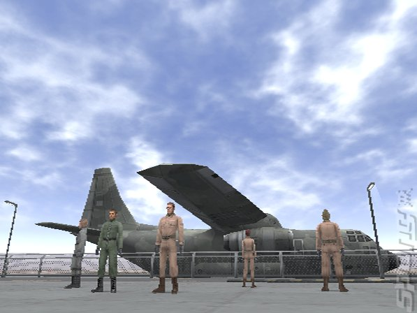 Front Mission Online - PS2 Screen