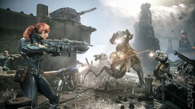 Gears of War: Judgment Editorial image