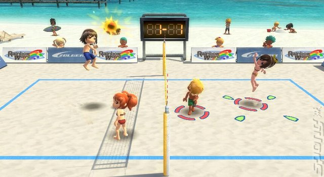 Go Vacation - Wii Screen