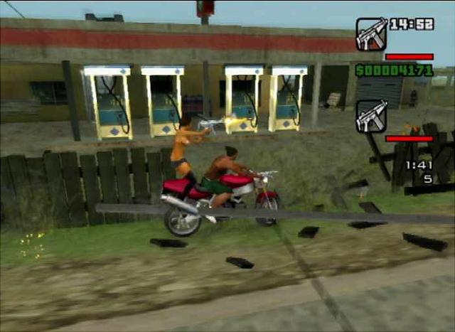 Screens: Grand Theft Auto: San Andreas - PS2 (3 of 67)
