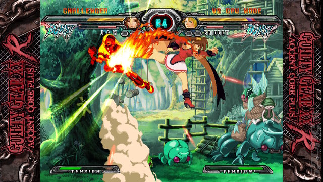 Guilty Gear 20th Anniversary Edition - Switch Screen