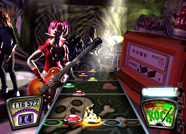 Guitar Hero II - Xbox 360 Screen
