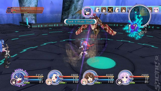 Hyperdimension Neptunia Mk2 - PS3 Screen