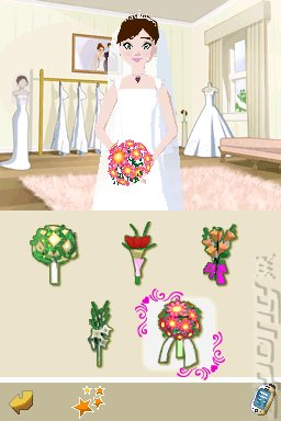 Imagine: Dream Weddings - DS/DSi Screen