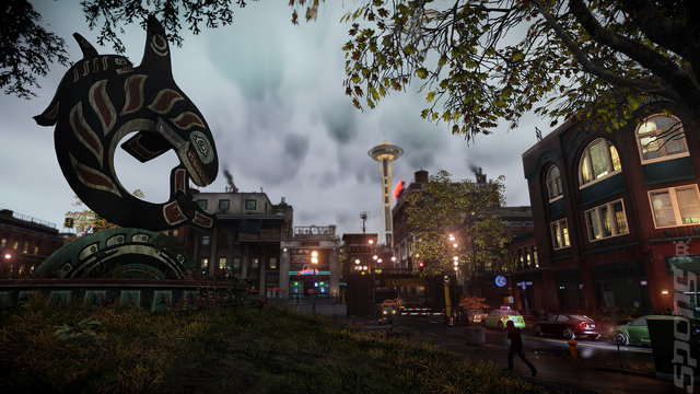 inFAMOUS: Second Son - PS4 Screen