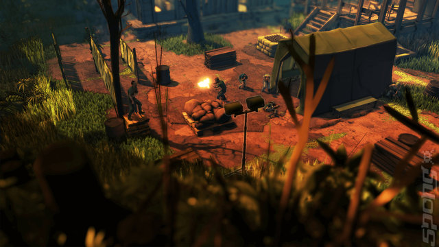 Jagged Alliance: Rage! - PS4 Screen
