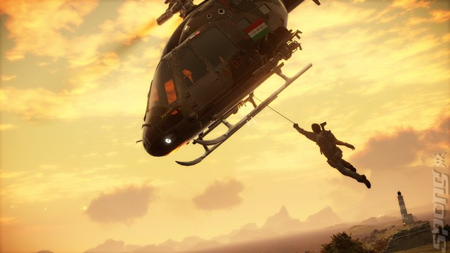 Just Cause 3 Editorial image