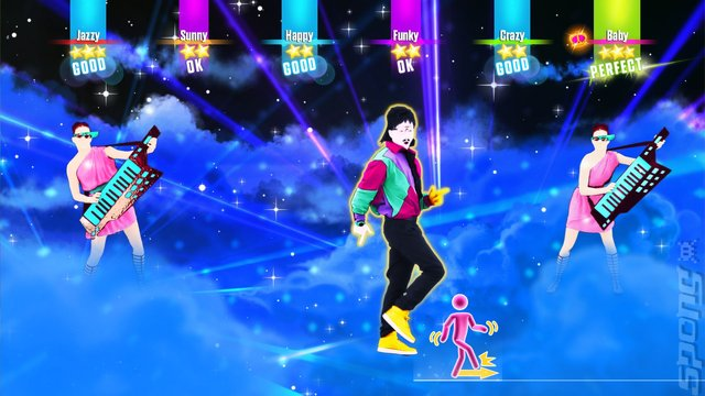 Just Dance 2017 - Xbox 360 Screen