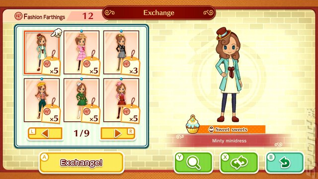 Layton's Mystery Journey: Katrielle and the Millionaires' Conspiracy - Switch Screen