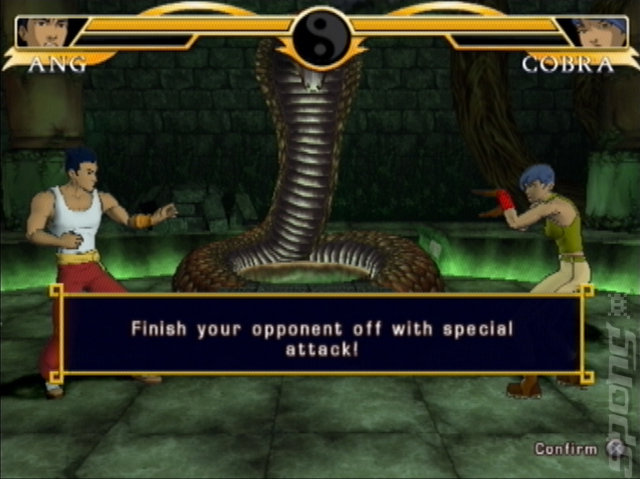 Legend of the Dragon - PS2 Screen