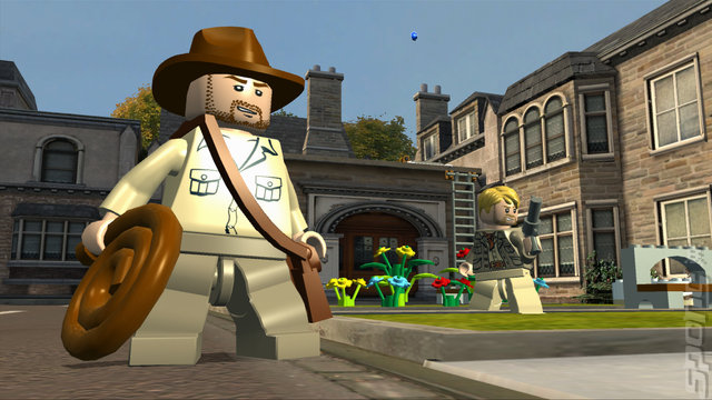 LEGO Indiana Jones 2: The Adventure Continues - Xbox 360 Screen