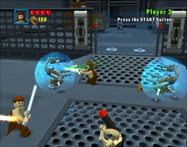 Play LEGO Star Wars: The Video Game on GBA - Emulator Online