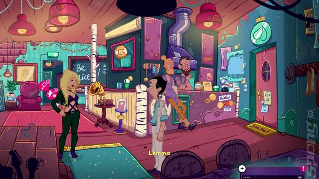 Leisure Suit Larry: Wet Dreams Don't Dry - PS4 Screen
