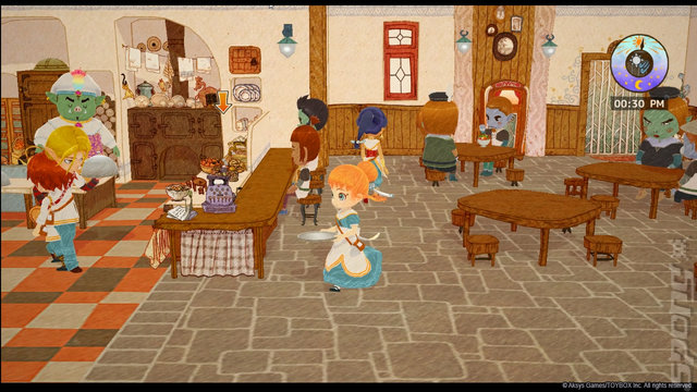 Little Dragons Cafe - Switch Screen