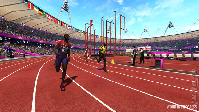 London 2012: The Official Video Game of the Olympic Games - PC Screen
