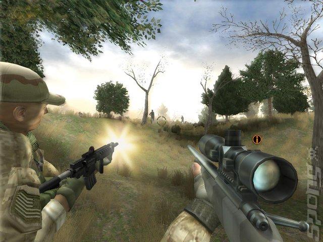 Marine Sharpshooter 3 - PC Screen