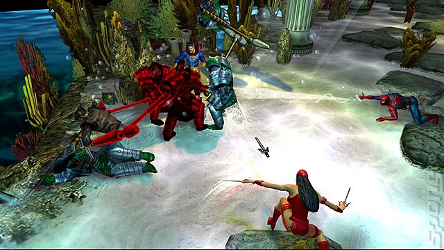 Marvel: Ultimate Alliance - Xbox 360 Screen