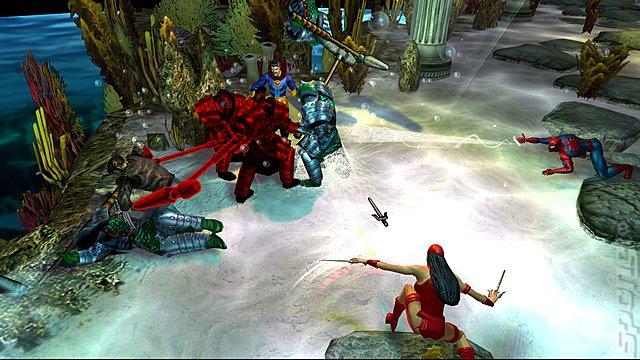 Marvel: Ultimate Alliance - Xbox 360 Screen