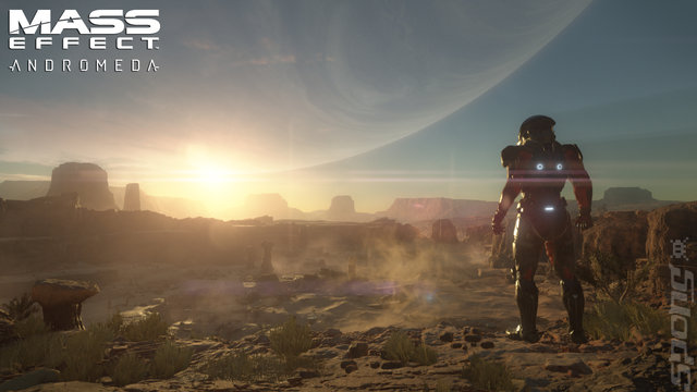Mass Effect: Andromeda Editorial image