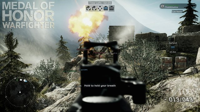 Medal of Honor: Warfighter - Xbox 360 Screen