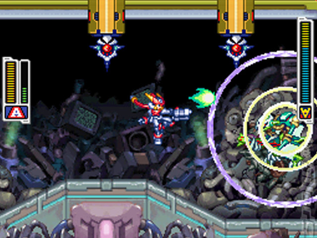 Mega Man ZX Advent - DS/DSi Screen