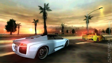 Midnight Club: LA Remix - PSP Screen