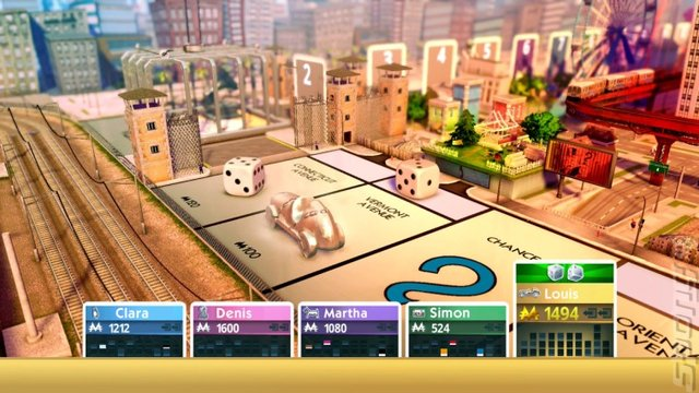 Monopoly for Nintendo Switch - Switch Screen
