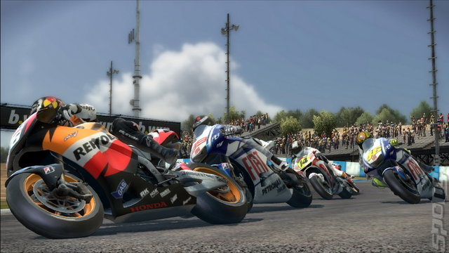 MotoGP 10/11 - Xbox 360 Screen