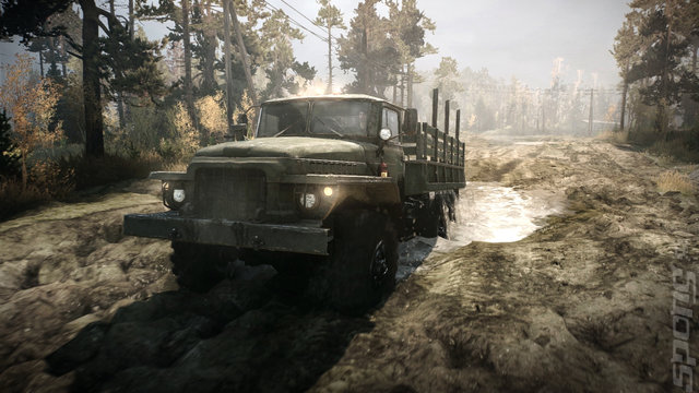 Mud Runner: A Spintires Game - PS4 Screen