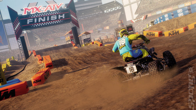 MX vs ATV: All Out: Anniversary Edition - PS4 Screen